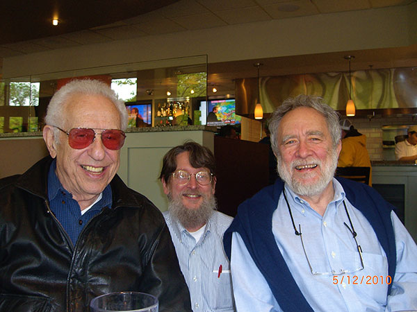 Nat, Pat Peterson and Steve Colburn